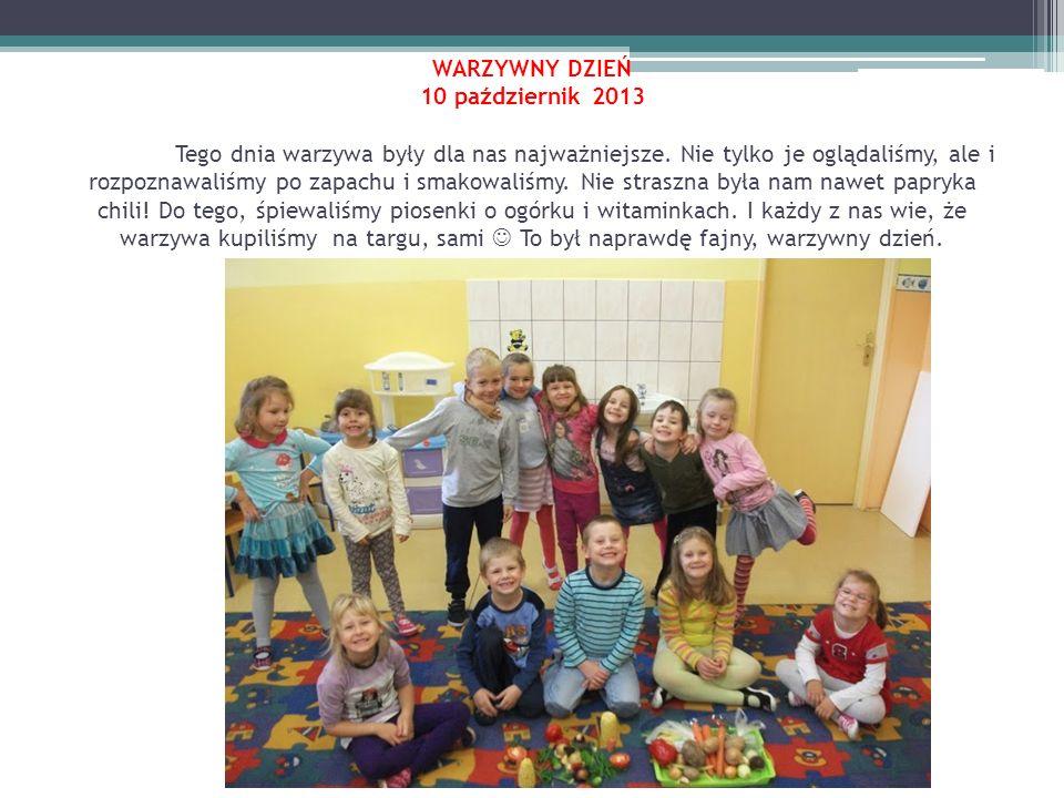 DZIEŃ KOLORU POMARAŃCZOWEGO 15 październik 2013 W tym dniu w naszym przedszkolu królował kolor pomarańczowy.