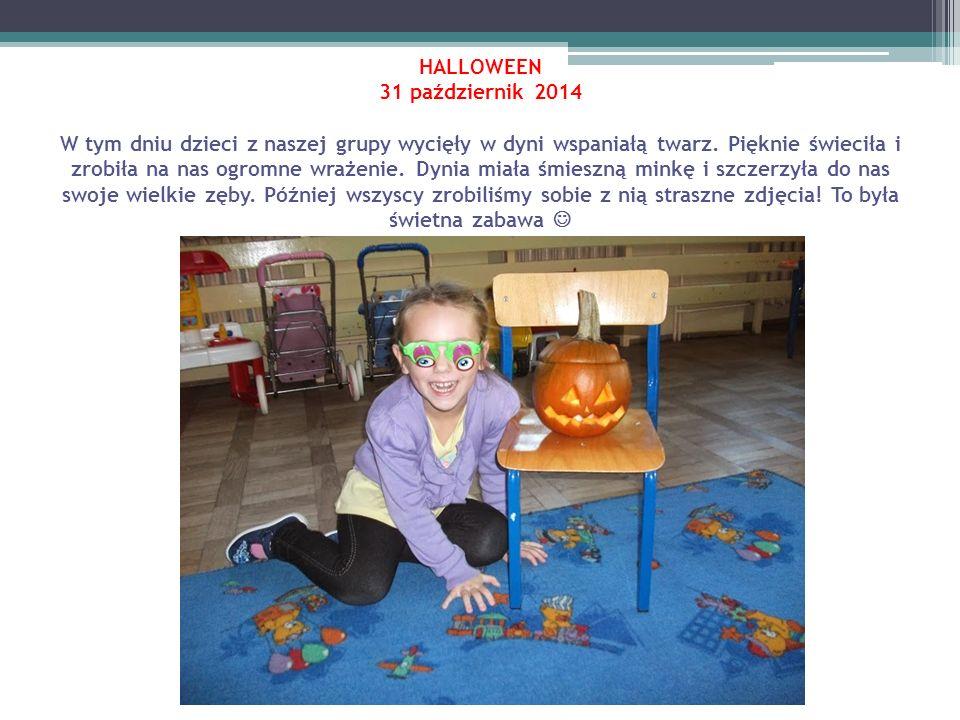 Bal jesieni 8 listopad 2013 W tym dniu dzieci z naszego przedszkola razem ze swoimi paniami obchodziły dzień jesieni.