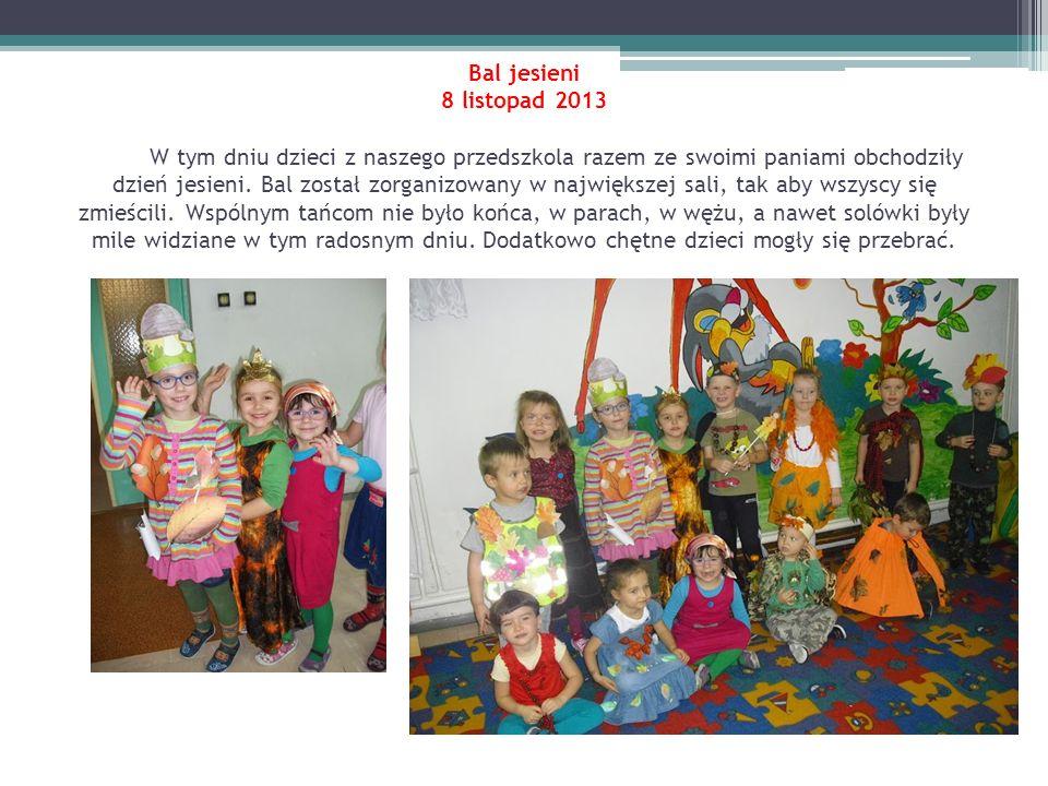 Wizyta pani leśnik z Nadleśnictwa Olsztyn 8 listopad 2013 Do naszego przedszkola przyszła pani leśnik ubrana w mundur.