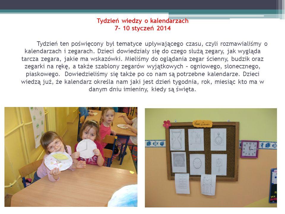 Dzień z Kubusiem Puchatkiem 17 styczeń 2014 W tym dniu dzieci przyniosły do przedszkola maskotki z tym bohaterem oraz z jego przyjaciółmi: Tygryskiem, Prosiaczkiem, Kłapouchym.