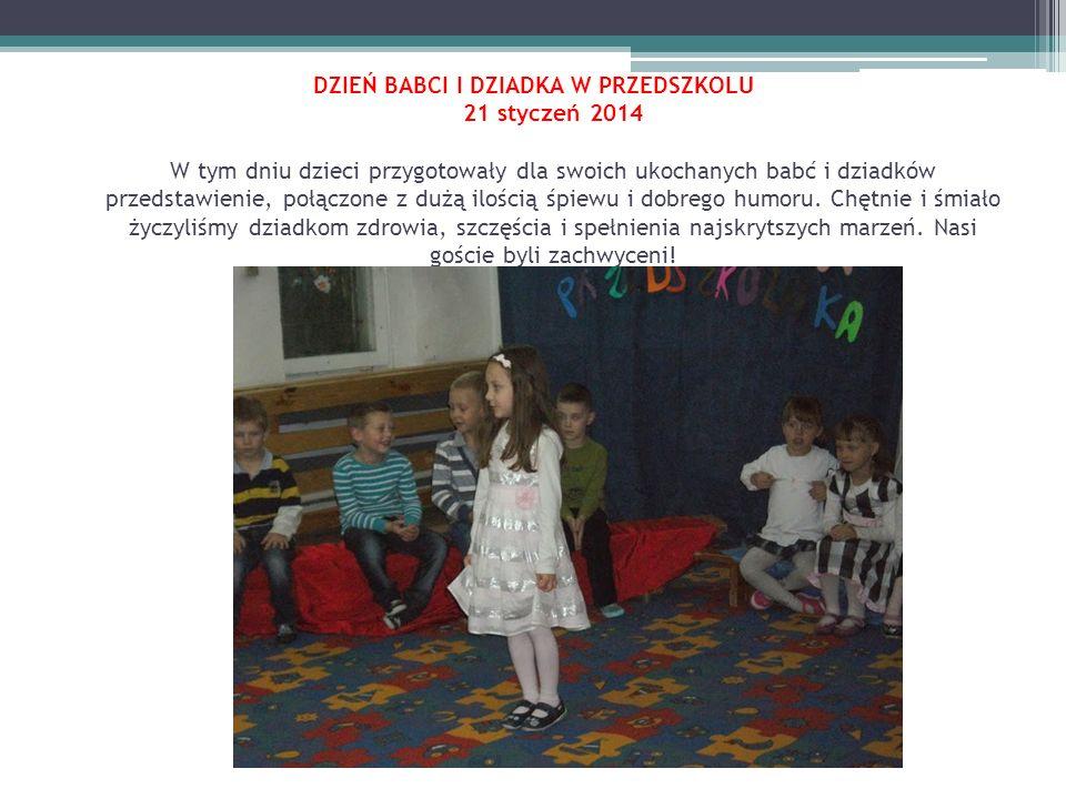 Choinka 2014 25 styczeń 2014 25 stycznia 2014 odbyła się zabawa choinkowa dla wszystkich dzieci z przedszkoli Patryk.