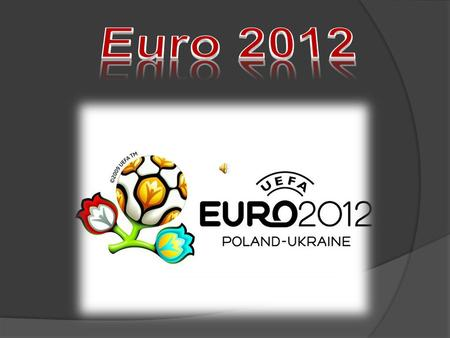 16 national teams take part in EURO 2012 Football Championship final tournament The final tournament starts on 8th June 2012 and finishes on 1st July.