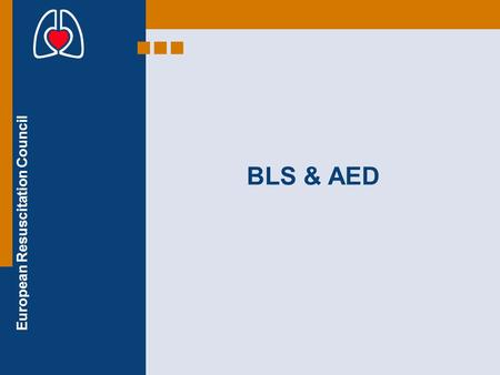 BLS & AED.