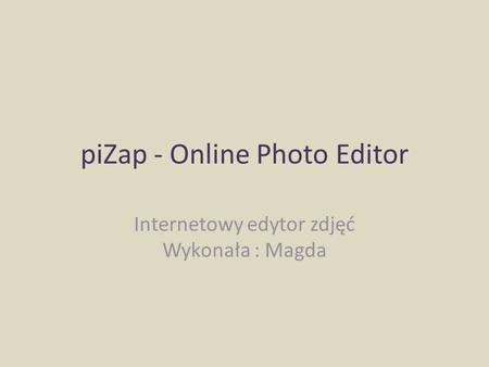 piZap - Online Photo Editor