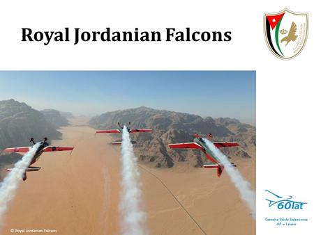 Royal Jordanian Falcons © Royal Jordanian Falcons.