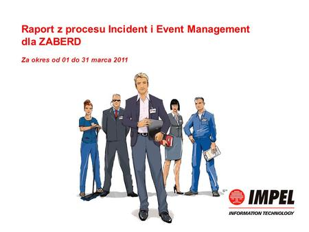 Raport z procesu Incident i Event Management dla ZABERD Za okres od 01 do 31 marca 2011.
