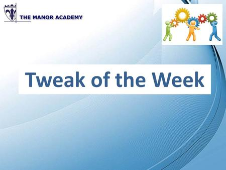 Tweak of the Week. Supporting Polish EAL students.