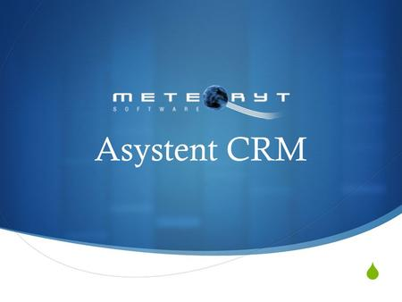 Asystent CRM.