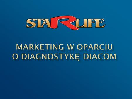 MARKETING w oparciu o diagnostykę DIACOM