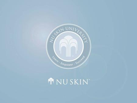 Galvanic Spa System II This document is for use by Nu Skin Enterprises Europe staff and independent distributors. It is not to be circulated to members.