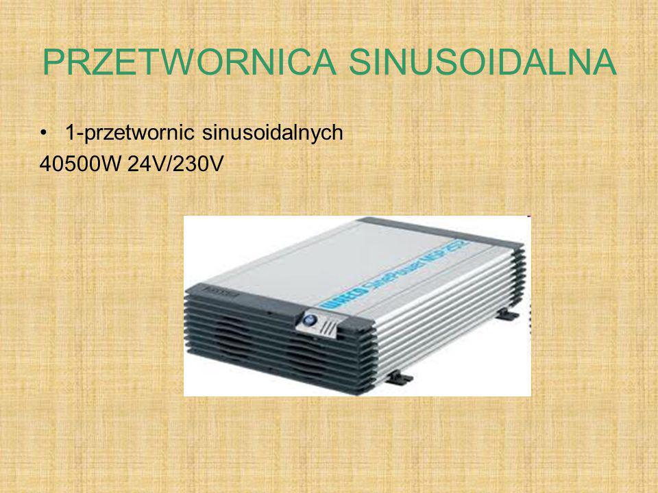 AKUMULATORY ŻELOWE 178- akumulatory żelowe 200Ah/12V 27- przetwornic sinusoidalnych 1500W 24V/230V 1500x27=40500W