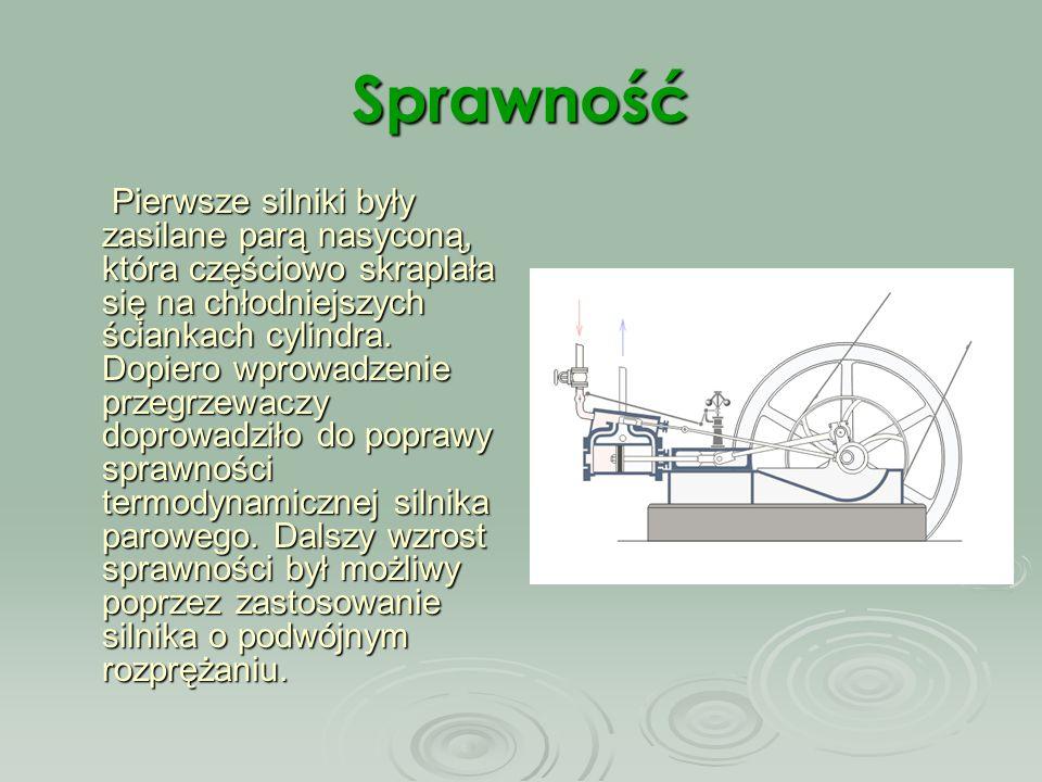 Maszyna parowa Maszyna parowa to parowy silnik tłokowy.