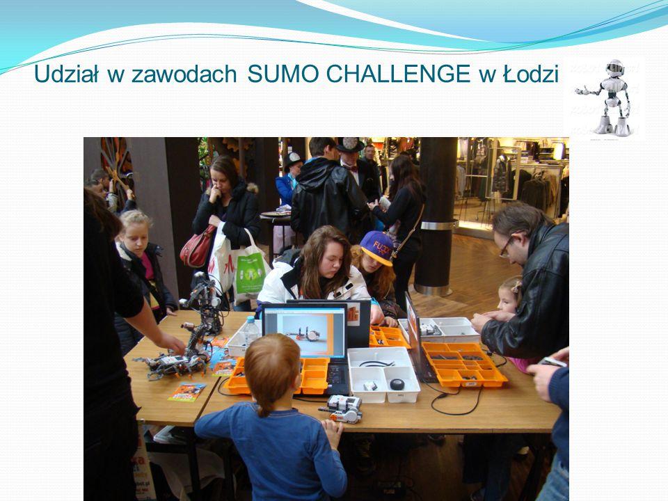 Udział w zawodach SUMO CHALLENGE w Łodzi.