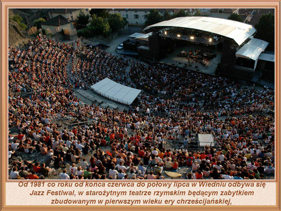 Od 1981 co roku od końca czerwca do połowy lipca w Wiedniu odbywa się Jazz Festiwal, w starożytnym teatrze rzymskim będącym zabytkiem zbudowanym w pierwszym wieku ery chrześcijańskiej,