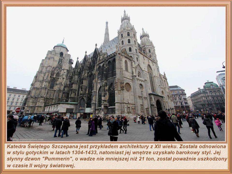 Katedra Świętego Szczepana jest przykładem architektury z XII wieku.