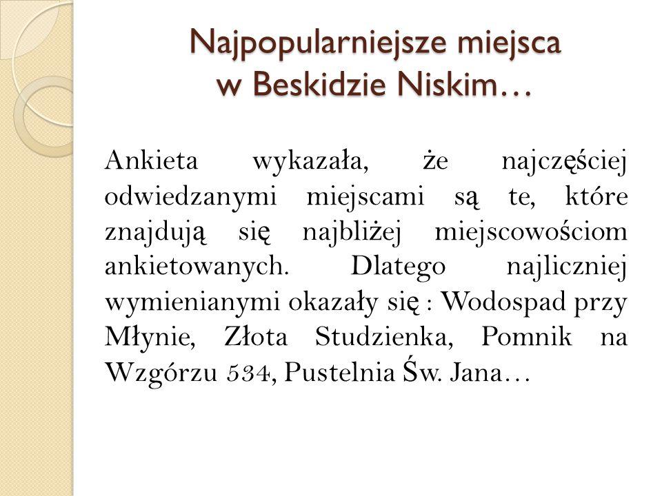Najatrakcyjniejsze miejsca Beskidu Niskiego… Co ciekawe Wzgórze Franków opisuje miejsce, gdzie centralnym punktem jest dobrze znany pomnik, upamiętniający walki operacji karpacko – dukielskiej.