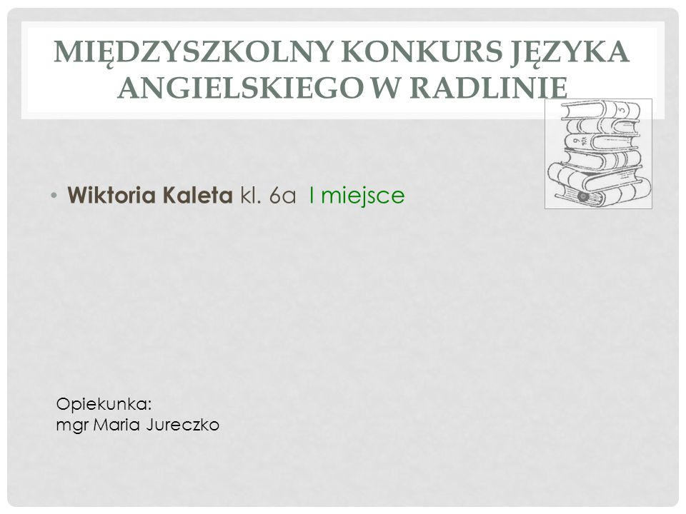 VI WOJEWÓDZKI TURNIEJ SZKÓŁ IM.KAROLA MIARKI / PIŁKA NOŻNA / 1.Pilny Grzegorz 2.