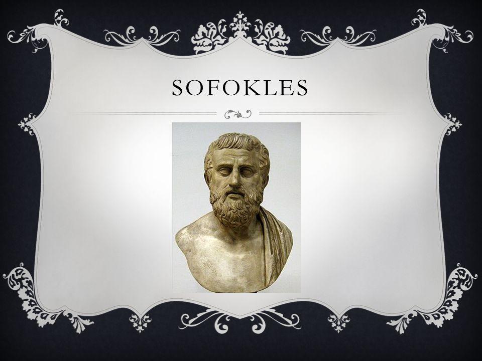 CZAS ŻYCIA urodzony ok.496 p.n.e. w Kolonos, zmarł 406 p.n.e.