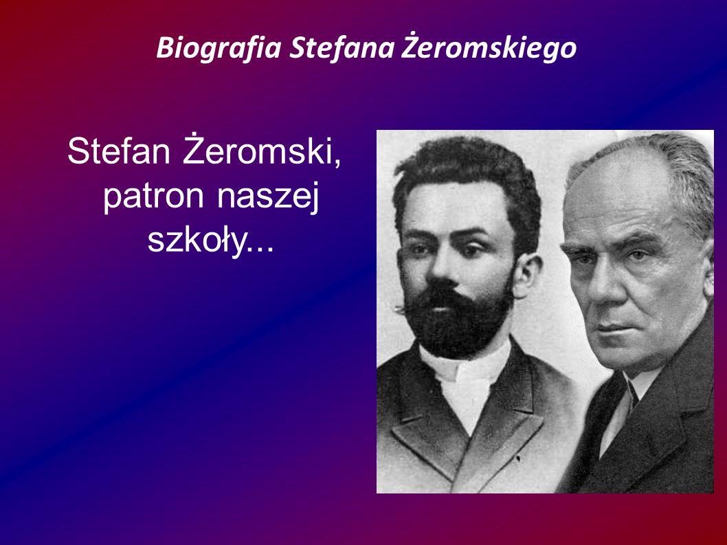 Rodzicami Stefana byli: Wincenty Żeromski i Józefa z Katerlów.