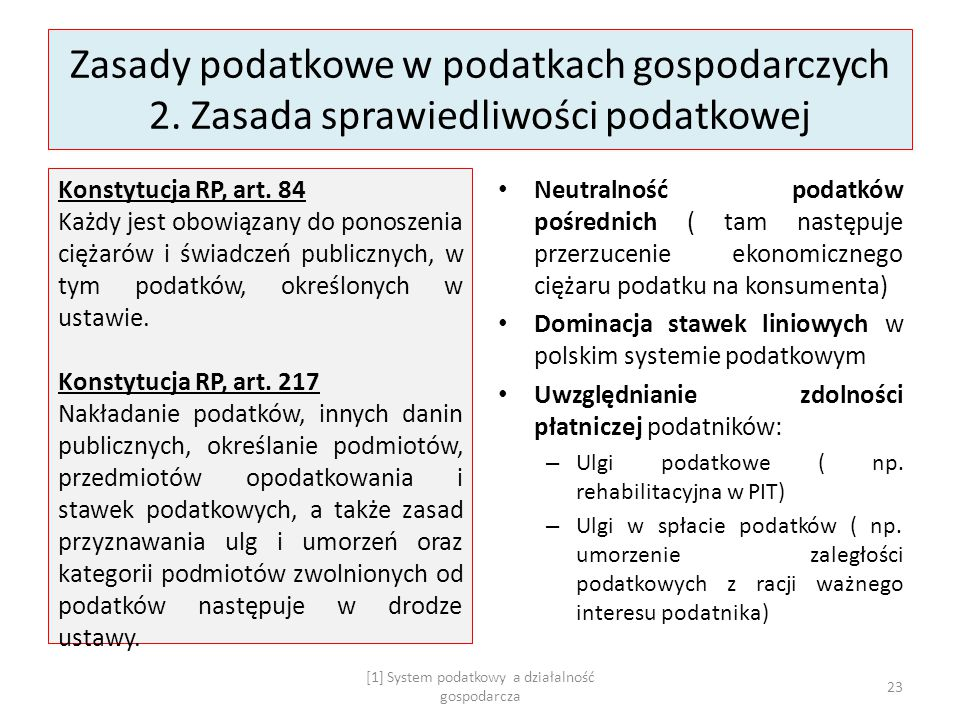 Główne zarzuty przedsiębiorców pod adresem polskiego systemu podatkowego 1.