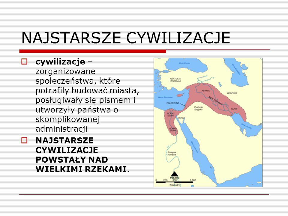 MEZOPOTAMIA  Mezopotamia – Międzyrzecze, czyli kraina położona między dwiema rzekami Eufrat i Tygrys, tam dzięki urodzajnym glebom i sprzyjającym warunkom klimatu powstała pierwsza cywilizacja.