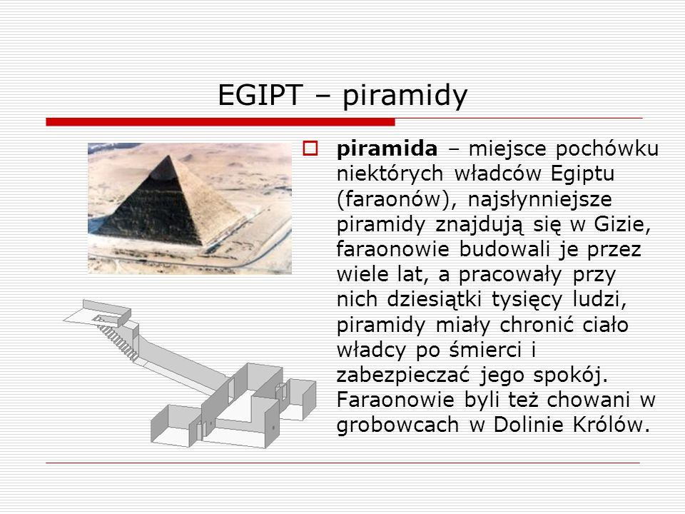 EGIPT – piramidy