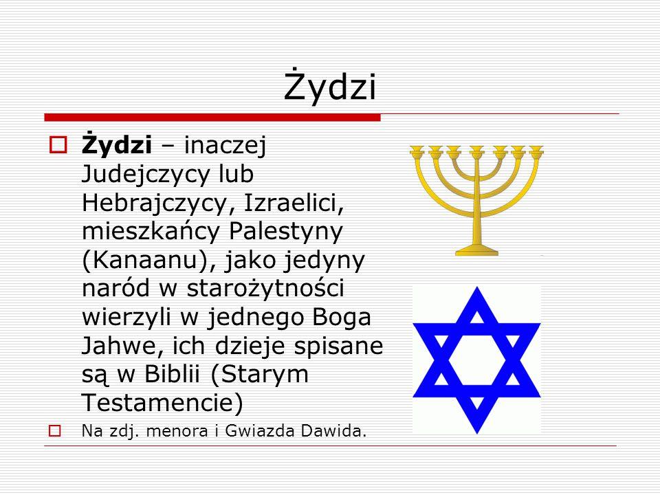 """Judaizm  judaizm – nazwa religii żydowskiej, wiara w jedynego Boga Jahwe, dzieje Jego kontaktów z """"narodem wybranym , czyli Żydami są spisane w Biblii (Starym Testamencie)"""
