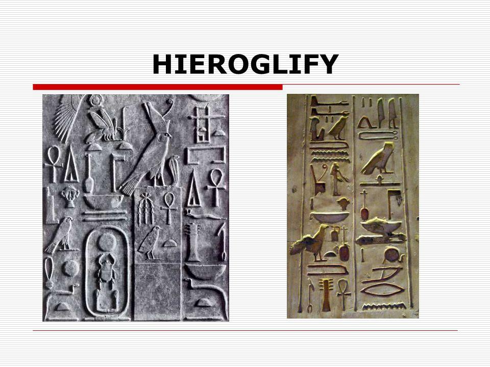 HISTORIA PISMA  PISMO KLINOWE – stosowali je mieszkańcy Mezopotamii, pisano nim na glinianych tabliczkach zaostrzonym rylcem, składało się z wielu znaków.