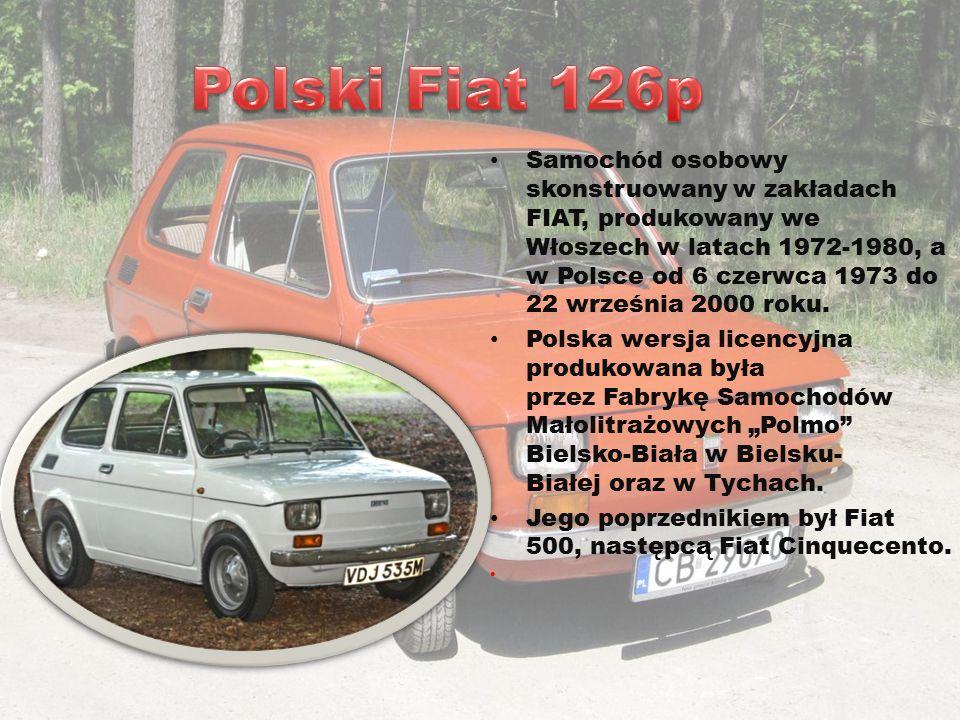 Samochód osobowy produkowany przez Fabrykę Samochodów Osobowych w Warszawie od 3 maja 1978 do 22 kwietnia 2002 roku.