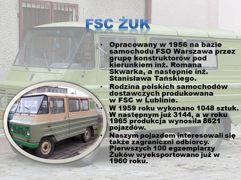 Samochód dostawczy produkowany w latach 1993-2007 przez Fabrykę Samochodów w Lublinie, Daewoo Motor Polska, Andoria-Mot, a w ostatnich latach produkcji przez Intrall Polska.