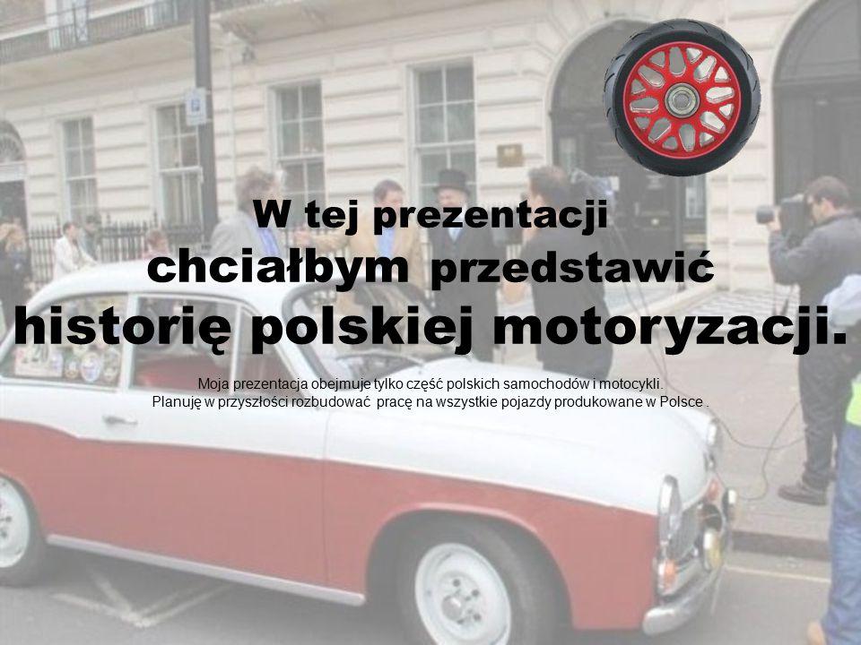Pierwsze polskie auto, które zadebiutowało w 1927 roku.