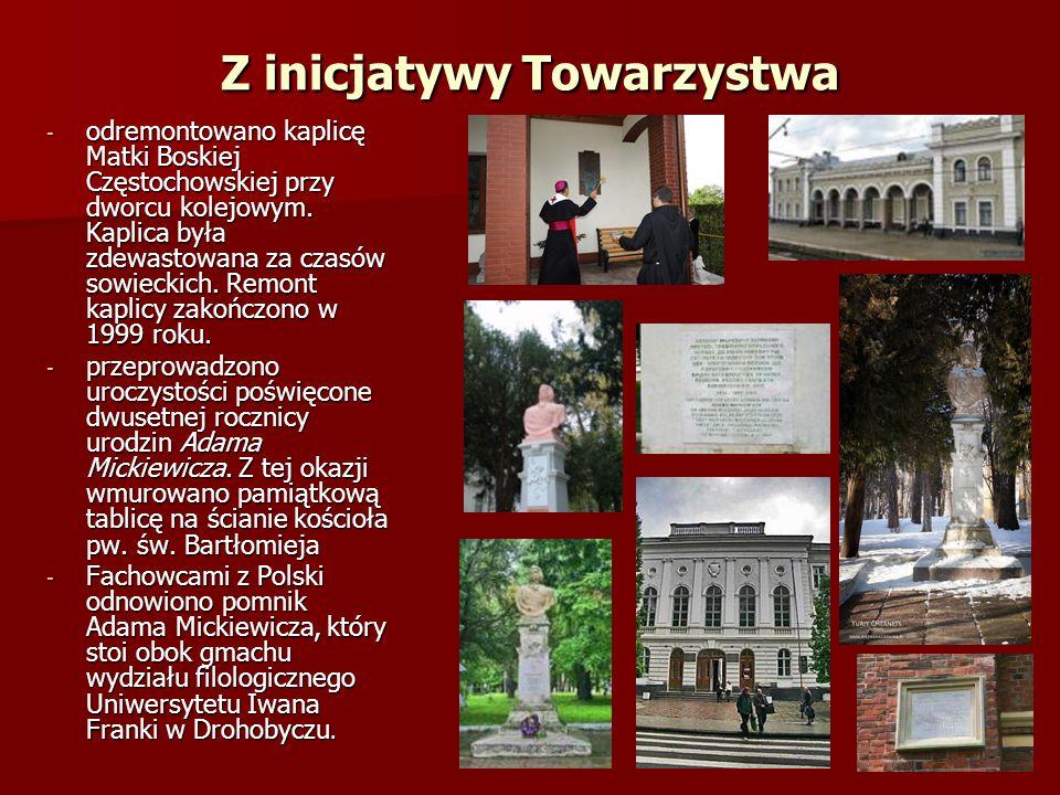 - Towarzystwo zaopiekowało się zabytkowym cmentarzem przy ul.