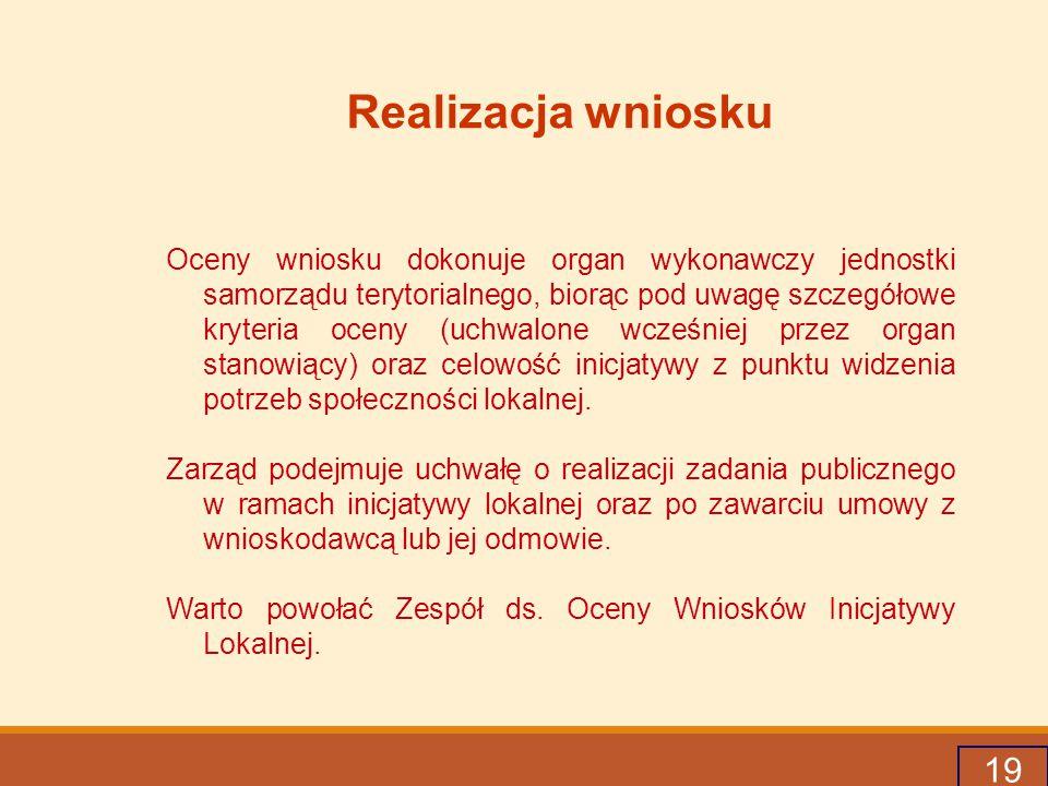 20 Przykładowe kryteria oceny a.