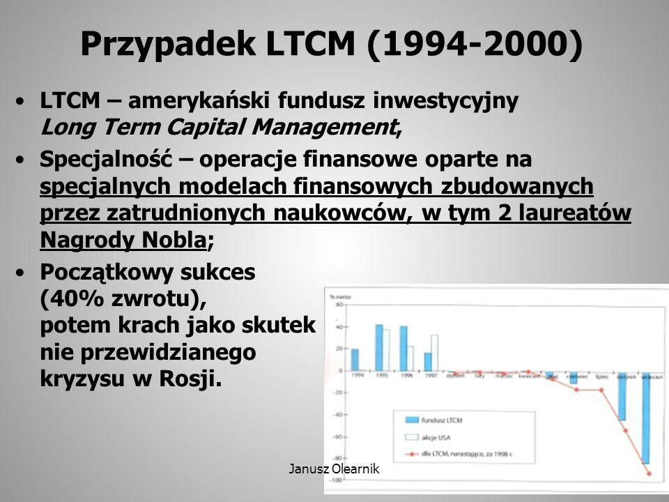 Eurogeddon - Armagedon Fundusz Inwestycyjny Eurogeddon powstały w lutym 2012, oparty na prognozach i założeniach Profesora Krzysztofa Rybińskiego, przez niego założony; Do X'2013 – 50% strat (!) Janusz Olearnik