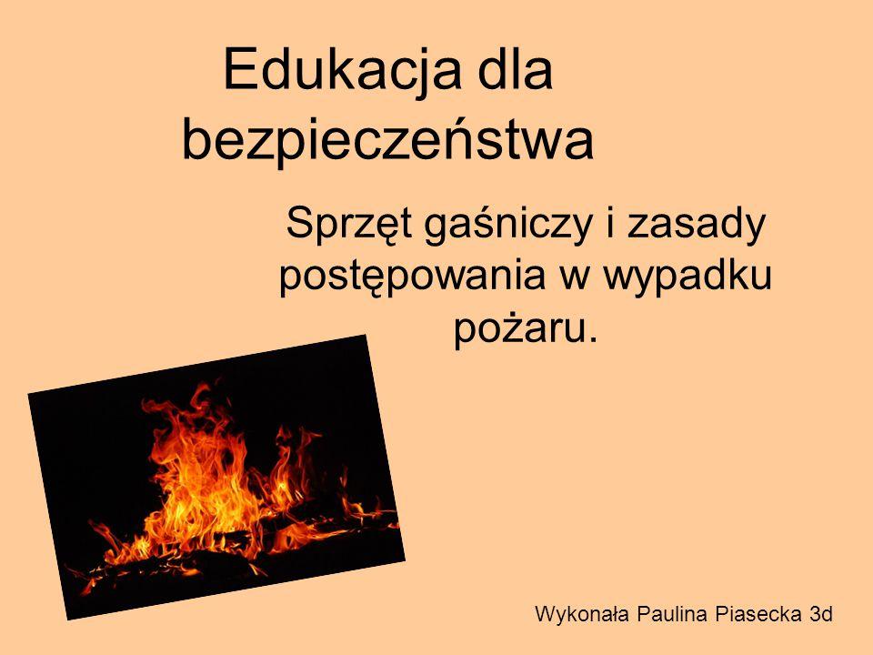 Co to jest pożar .To niekontrolowany proces spalania w miejscu do tego nieprzeznaczonym.