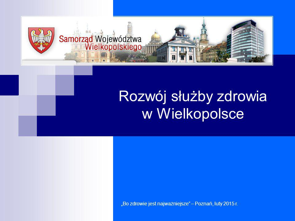 Zestawienie dotacji z budżetu Województwa Wielkopolskiego oraz innych źródeł finansowania SPZOZ podległych Samorządowi Województwa Wielkopolskiego w latach 2006-2014