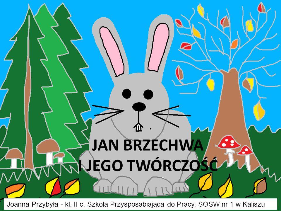 Kilka informacji o postaci  Właściwe nazwisko Jana Brzechwy brzmi Jan Wiktor Lesman.