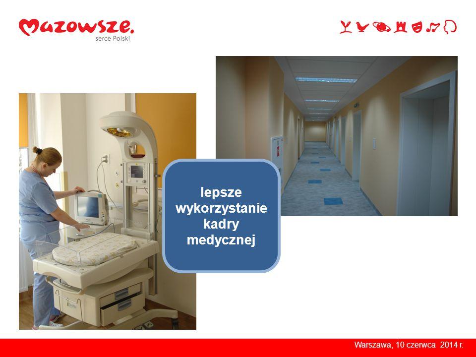 Warszawa, kwiecień 2014 r.większa efektywność i rentowność Warszawa, 10 czerwca 2014 r.