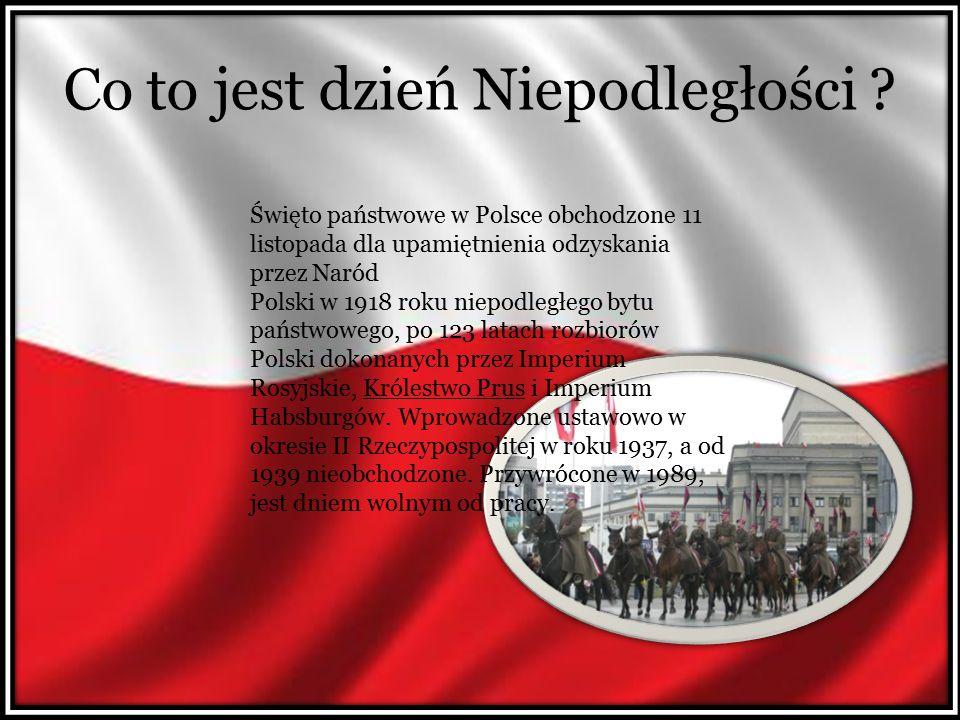 Święto Niepodległości i obchody Dzień 11 listopada ustanowiono świętem państwowym po raz pierwszy dopiero w 1937 roku.