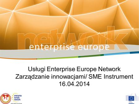 Usługi Enterprise Europe Network