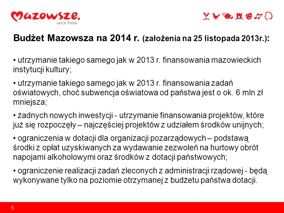 6 Spadek poziomu dochodów z tytułu CIT w latach 2007-2013 CIT w 2013 r.