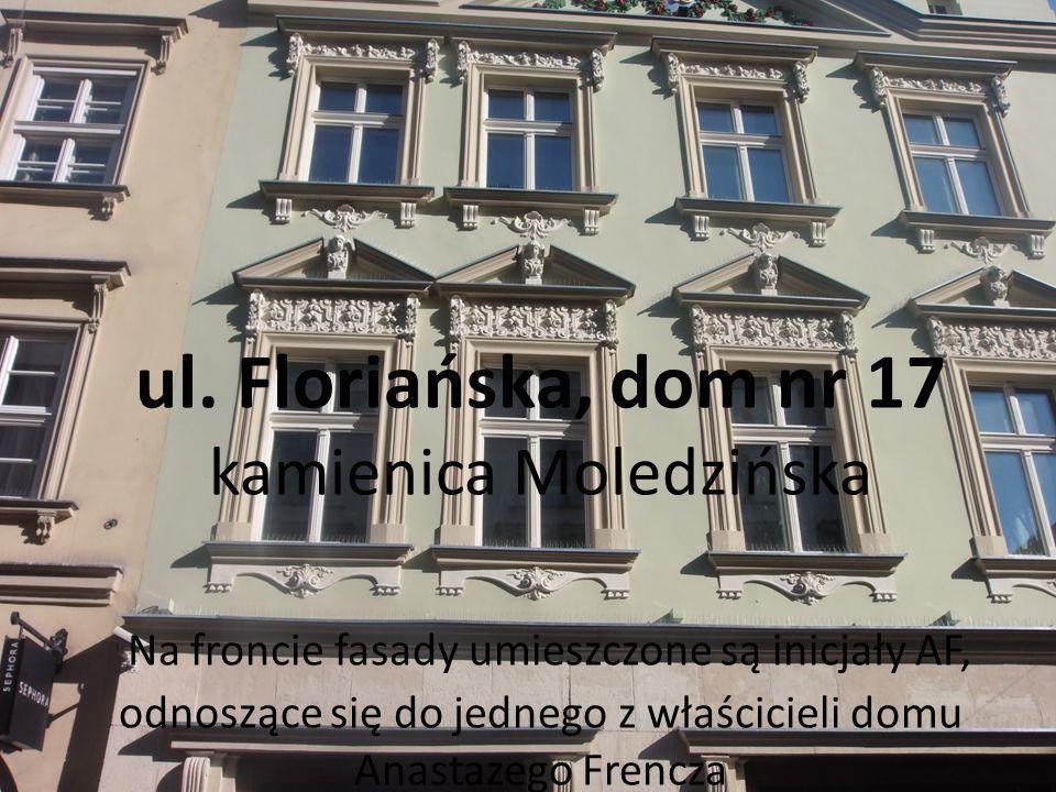 ul. Floriańska, dom nr 20 kamienica nr 20