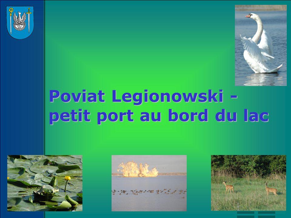 Le poviat Legionowski est situé dans la partie centrale de la Plaine de Mazovie.