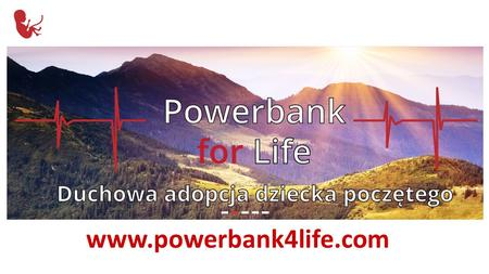 Aplikacja mobilna Powerbank for life Mobile application Powerbank for life