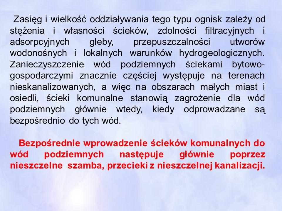 Wykład nr 6 OCHRONA WÓD PODZIEMNYCH OCHRONA WÓD PODZIEMNYCH ANTROPOGENICZNE zanieczyszczenia i zagrożenia wód podziemnych Na podstawie podręcznika HYDROGEOLOGIA z podstawami geologii, Jerzy KOWALSKI, WUP, Wrocław 2007 OPRACOWAŁ dr hab.inż.Wojciech Chmielowski prof.PK Instytut Inżynierii i Gospodarki Wodnej Zakład Gospodarki Wodnej, PK