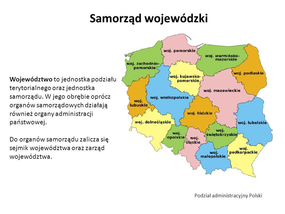 Sejmik województwa sejmik województwa to organ uchwałodawczy i kontrolny w jego skład wchodzą radni wybierani w wyborach powszechnych na 4 – letnią kadencję.