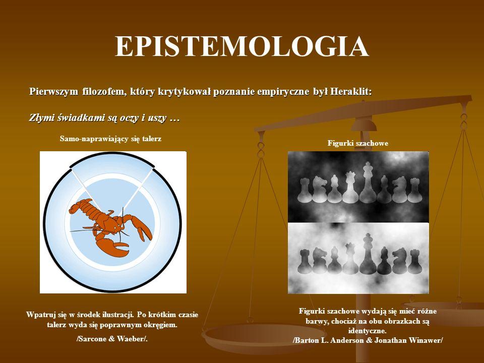 EPISTEMOLOGIA - RACJONALIZM Racjonalizm z łac.