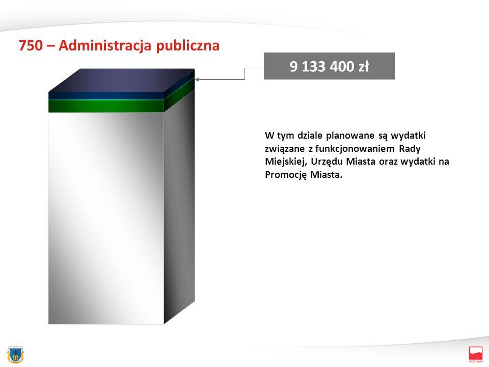 751 – Urzędy naczelnych organów władzy kontroli i ochrony prawa oraz sądownictwa 10 820 zł Całość środków pochodził z dotacji rządowej z przeznaczeniem na aktualizację stałego rejestru wyborców.