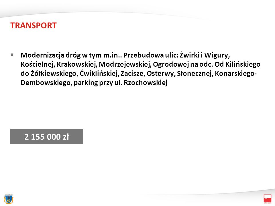 TRANSPORT Plac, parking MOSIR 1 400 000 zł