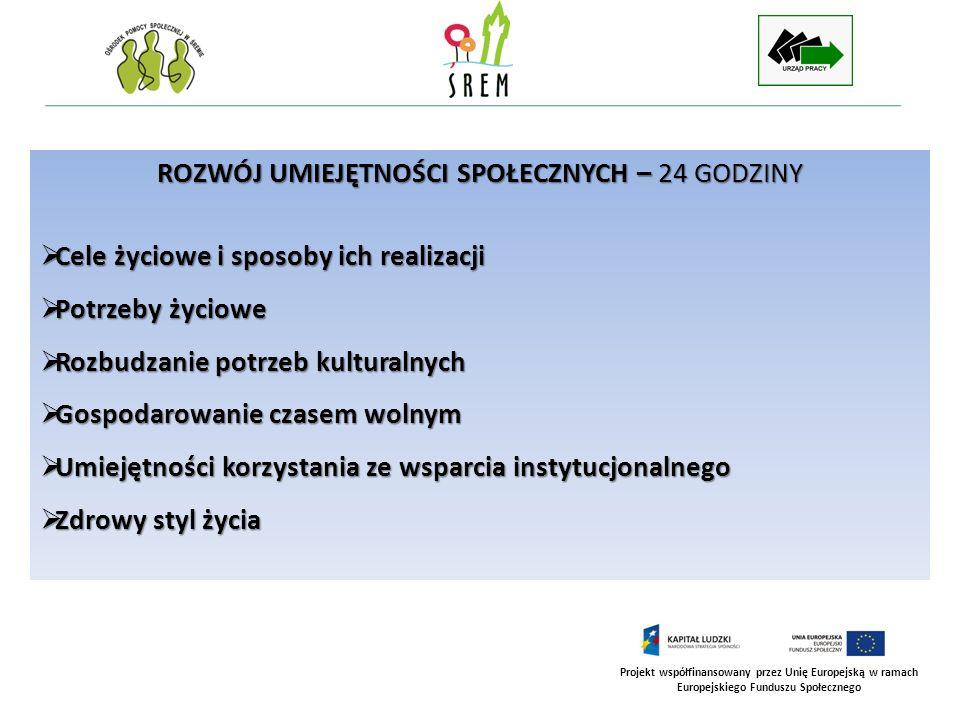 Projekt współfinansowany przez Unię Europejską w ramach Europejskiego Funduszu Społecznego PORADNICTWO RODZINNE – 42 GODZINY Dynamika życia w rodzinie: rodzina jako system społeczny Dynamika życia w rodzinie: rodzina jako system społeczny Relacje pomiędzy partnerami Relacje pomiędzy partnerami Relacje dzieci – rodzice Relacje dzieci – rodzice System rodzinny, a wpływy środowiska społecznego System rodzinny, a wpływy środowiska społecznego Dziecko w rodzinie dotkniętej bezrobociem Dziecko w rodzinie dotkniętej bezrobociem Konstruktywne rozwiązywanie konfliktów w rodzinie Konstruktywne rozwiązywanie konfliktów w rodzinie